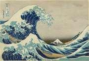 La grande onda di Kanagawa -  Opera di  Katsushika Hokusai