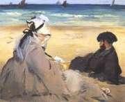 Edouard Manet, Sur la plage